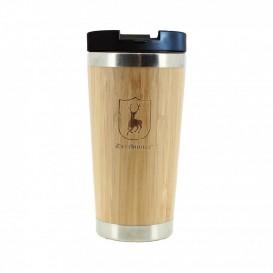 DEERHUNTER Bamboo Thermo Cup w.Lid | termohrnček