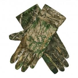 DEERHUNTER Approach Silicone Grip Gloves - kamuflážne rukavice