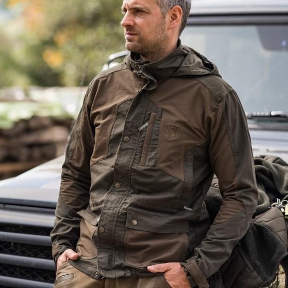 DEERHUNTER Strike Jacket Long - strečová bunda dlhá