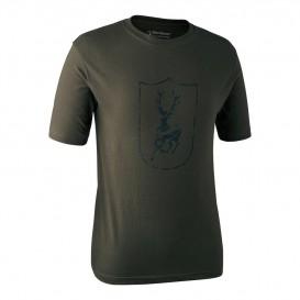 DEERHUNTER Logo T Shirt Shield S/S - tričko s logom