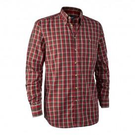 DEERHUNTER Chris Shirt Red - košeľa