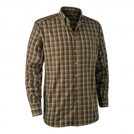 DEERHUNTER Chris Shirt Brown - košeľa