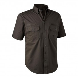 DEERHUNTER Caribou Hunting Shirt S/S - košeľa s krátkym rukávom