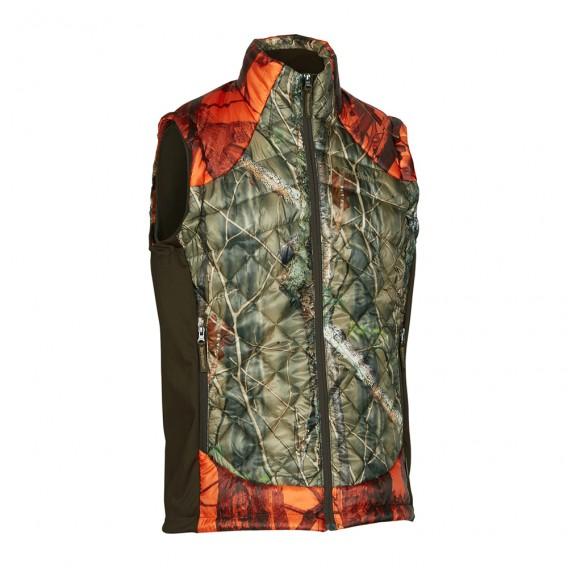 DEERHUNTER Cumberland Quilted Blaze Waistcoat   zateplená vesta