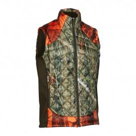DEERHUNTER Cumberland Quilted Blaze Waistcoat | zateplená vesta