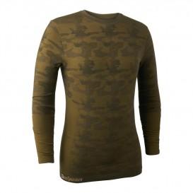 DEERHUNTER Camou Wool Underwear Shirt - merino nátelník