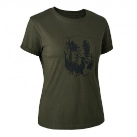 DEERHUNTER Lady T-shirt with Shield - dámske tričko
